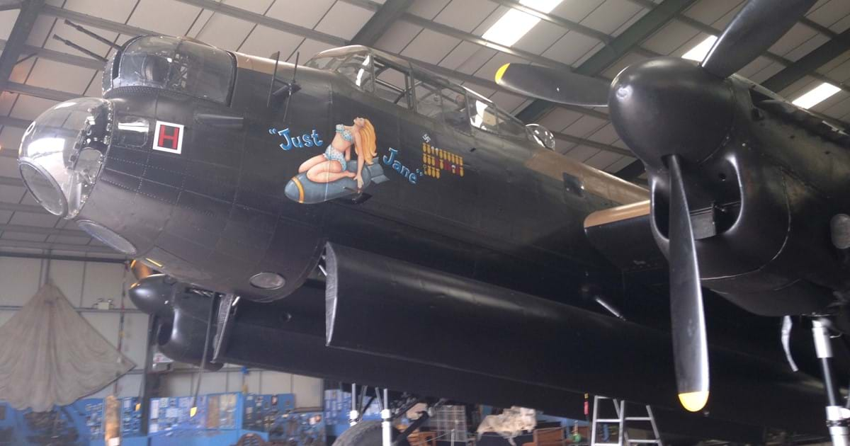 £7600 raised by Lincolnshire Aviation Heritage Charity Auction Image