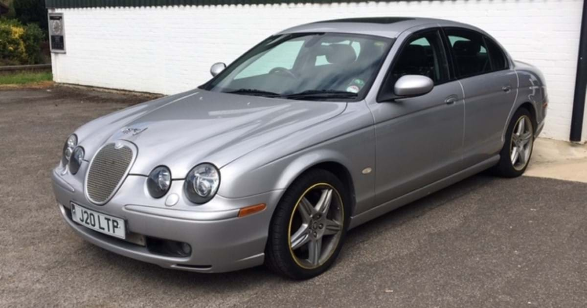 Jaguar S-type R – involved in an armed robbery! Image