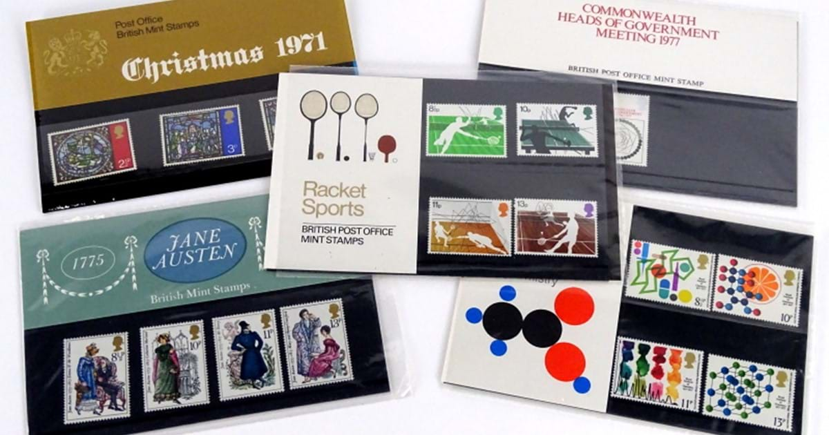 Stamp Presentation Packs Image