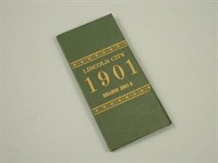 Lincoln City Season Ticket 1901-1902