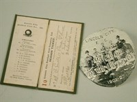 Lot 28 - Interior Of Lincoln City Season Ticket