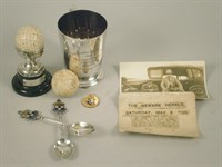 Lot 193 - Golfing Memorabilia From The Southwell Golf Course In The 1920's And '30s
