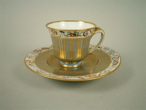 Lot 21 - 19th Century Sevres Porclain Cup And Saucer