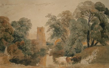 Lot 1 - This Peter De Wint Watercolour Has An Estimate Of Between £1,800 And £2,400