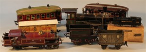 Lot6 An O-Gauge LMS Hornby Train selection