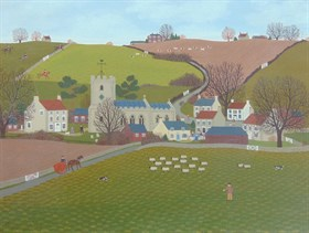 Lot 3702 - Village Of Old Bollingbroke By Vincent Haddelsey