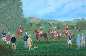 Lot 3 Polo Match By Vincent Haddelsey