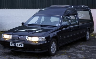 Lot 1a 1997 Volvo 960 Hearse R198 KWS