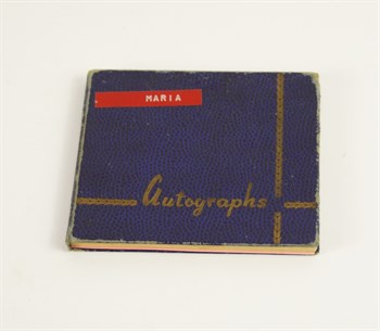Lot 172 An Important 1960's 70's Rock And Pop Autograph Album
