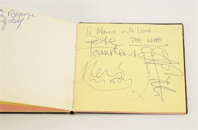 Lot 172 An Important 1960's 70's Rock And Pop Autograph Album Signatures