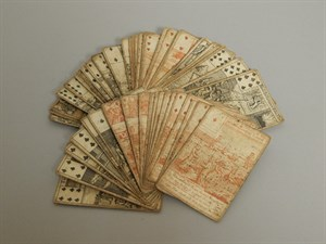 37 A Rare Set Of Fifty Two 18th C Playing Cards