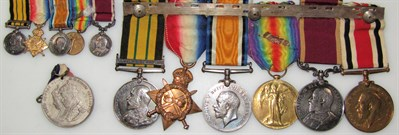 Lot1 An African conflict WWI and later medal group