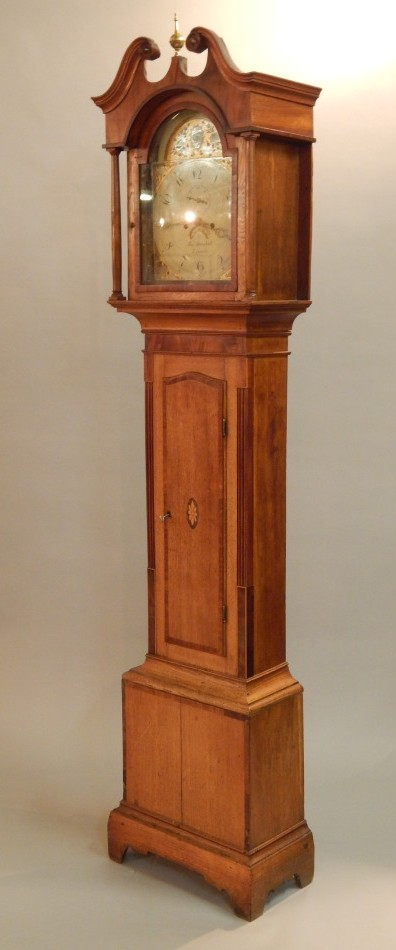 Lot7 Thomas Marshall, Lincoln. A 19thC longcase clock