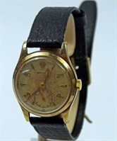 1 A 1950's 9ct Gold Rolex Gentlemans Wristwatch