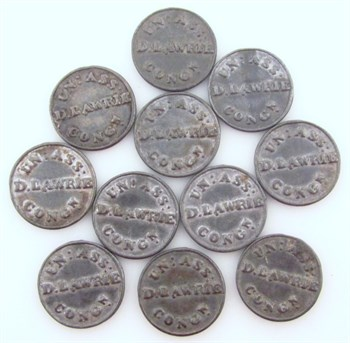 Lot 69 Church and Trade Tokens