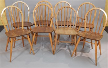 Lot 37 Ercol Chairs