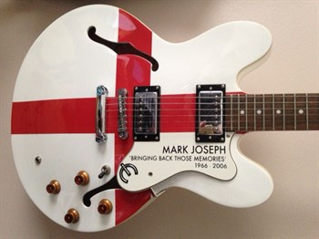 Lot1 A limited edition Mark Joseph Epiphone guitar