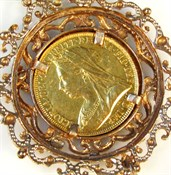Thumbnail _lot 70-2 A Victorian gold double sovereign