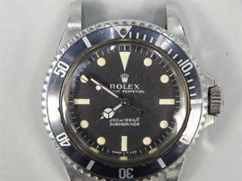 Thumbnail _lot 38 (1) A 1967 Rolex Submariner model 5513