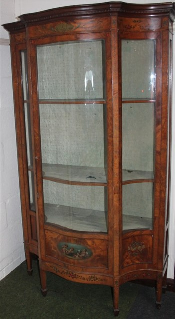 Thumbnail _lot 320 19th Century Satinwood Display Cabinet