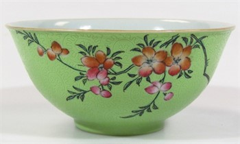 Thumbnail _lot 3009 A Chinese porcelain bowl