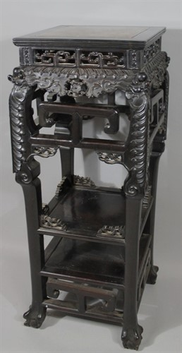 Thumbnail _lot 3248 A 19thC Chinese urn stand