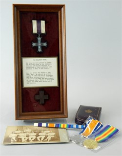Lot 4 A First World War Military Cross, awarded to Special Lieutenant Arthur Ray Kelsey