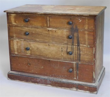 Thumbnail _lot 866 A late 19thC Gillows of Lancaster Aesthetic style chest of drawers