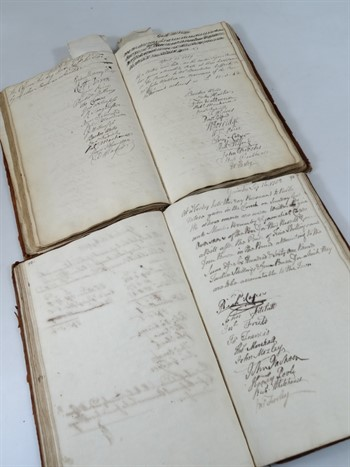 954 Gainsborough.- ACCOUNT BOOKS FOR THE PARISH OF LAUGHTON OVERSEERS OF THE POOR