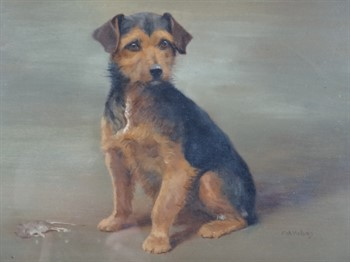 Thumbnail _lot 11 Terrier in oil