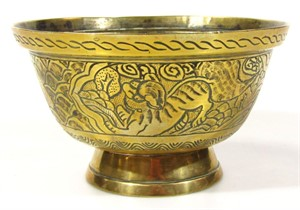 Thumbnail _lot 3002 A Chinese Polished Bronze Censer