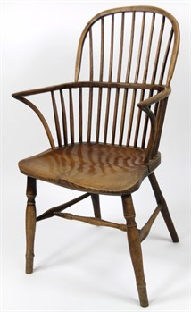 Thumbnail _lot 41 Hubbard of Grantham Windsor chair,